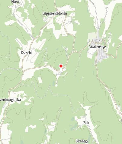 Map / Budafai Arborétum