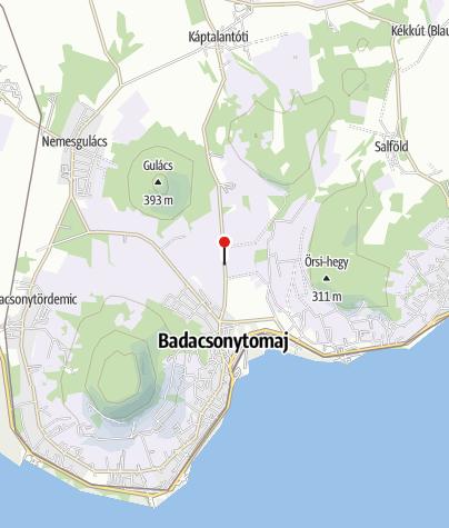 Map / Borbély Borház és Vendégház