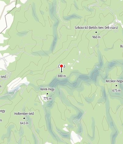Térkép / Őr-kő
