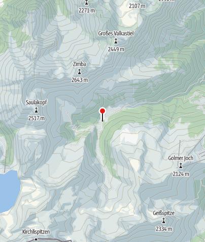 Karte / Rellser Mariahilfkapelle