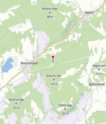 Map / Almádi monostor romjai