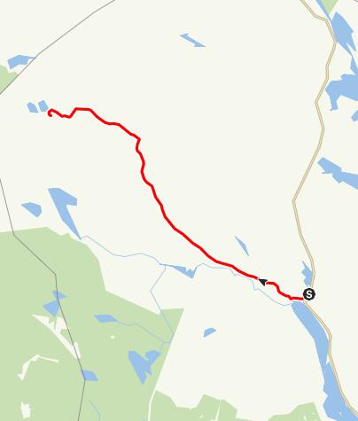 Karta / Stråsjöleden, Ramsjö till Flomyr