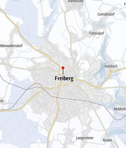 Karte / 30. Freiberger Christmarkt