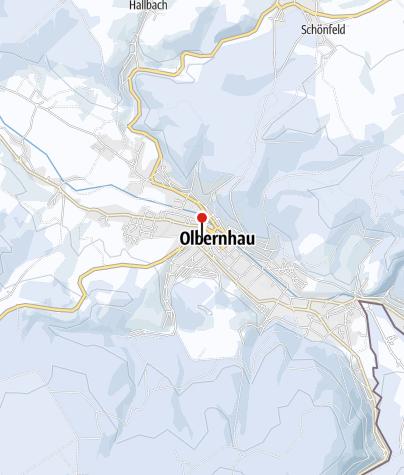 Karte / Olbernhauer Weihnachtsmarkt