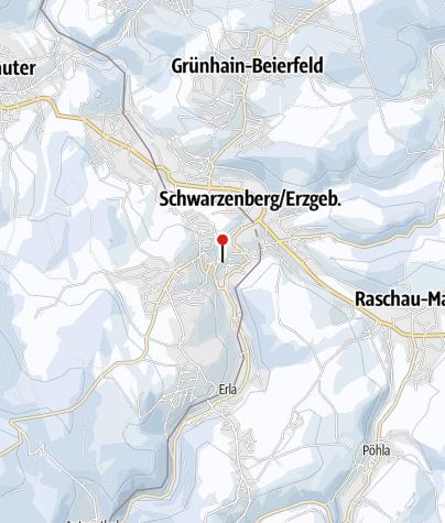 Karte / Schwarzenberger Weihnachtsmarkt