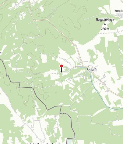 Térkép / Őrségi Népi Műemlékegyüttes (Pityerszer, Szalafő)