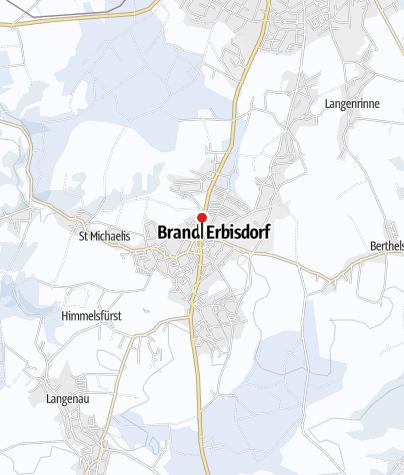 Karte / Stollenmarkt mit Bergaufzug in Brand-Erbisdorf