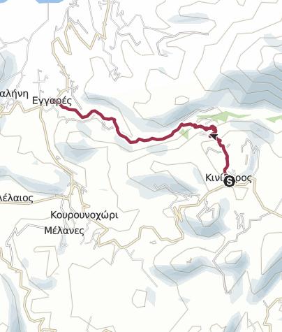 Kaart / Kynidaros to Eggares