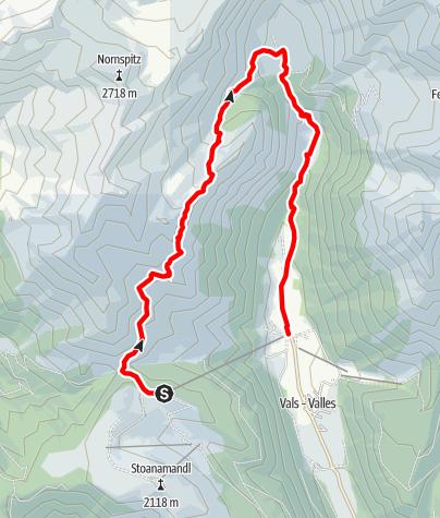 Mapa / Rotensteinerhöhenweg