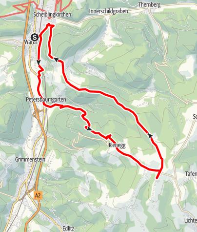 Mapa / Warther Wallfahrt
