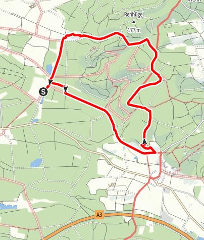 Karte / TraumRunde Prichsenstadt