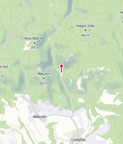 Térkép / Oszlai kulcsosház