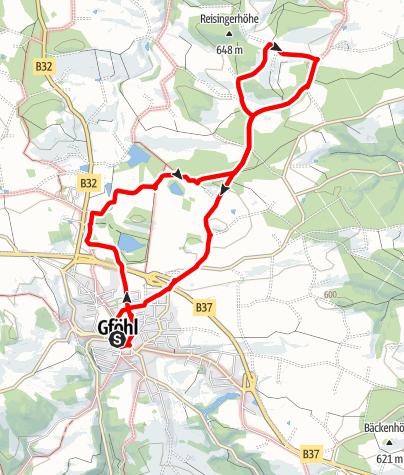 Karte / Ins Gföhleramt