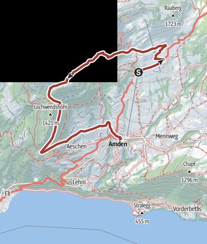 Karte / Kneipp Hiking Amden