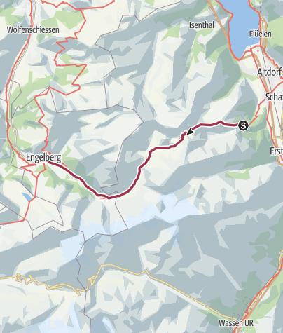Map / Surenenpass - Historischer Übergang