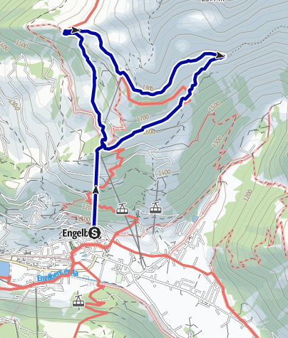 Kaart / Brunni-Pfad Engelberg
