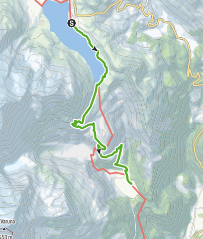 Map / 33.08 Osp. Bernina - Cavaglia, Via Albula/Bernina