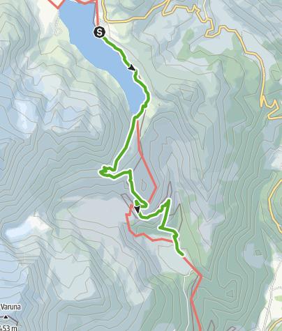 Kaart / 33.08 Osp. Bernina - Cavaglia, Via Albula/Bernina