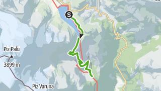 Karte / 33.08 Osp. Bernina - Cavaglia, Via Albula/Bernina