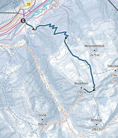 Map / Brudelhorn