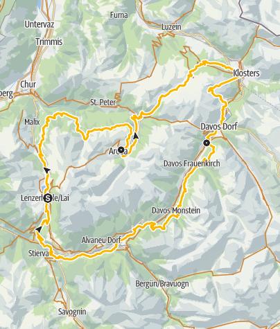 Kaart / GrischaTrail