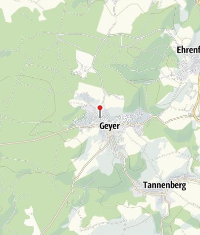 Karte / Weihnachtsausstellung im Schnitzerheim Geyer