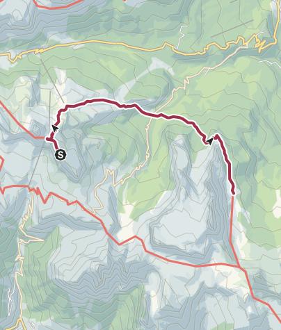 Carte / Rifugio Nuvolau to Rifugio Croda da Lago Palmieri