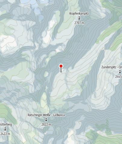Mapa / Moarerbergalm/Poschhaus