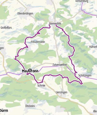 Karte / Schlossberg Tour