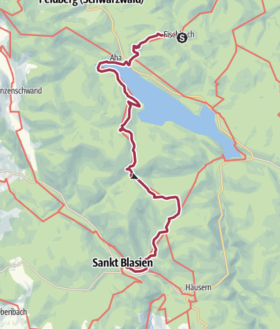 Carte / Wanderung nach St. Blasien