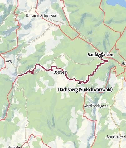 Map / Wanderung nach Todtmoos