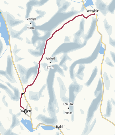 Map / Grasmere to Patterdale