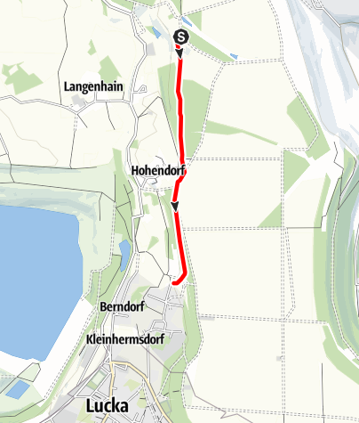 Karte / Pfad des Baumes und Geologischer Lehrpfad Hohendorf