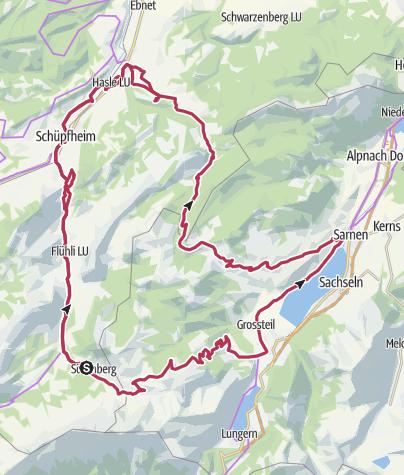 Map / Entlebuch Pass Tour