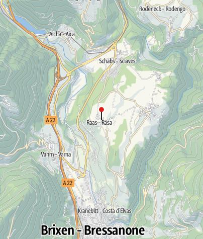 Karte / Lebensmittelgeschäft Seppi/Sylvanerhof