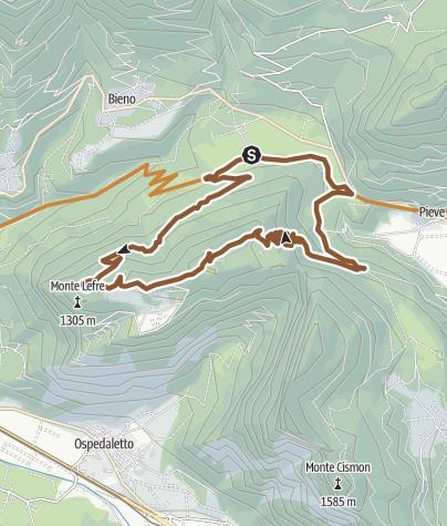 Map / TesinoBike -  Lefre 2308