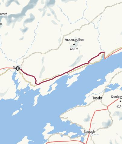 Map / Sneem to Blackwater Bridge