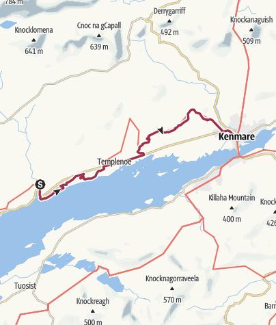 Map / Blackwater Bridge to Kenmare