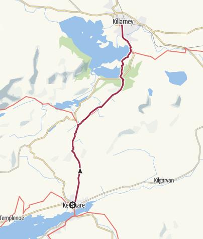 Map / Kenmare to Killarney