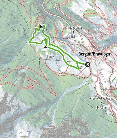 Map / Sagenweg Bergün