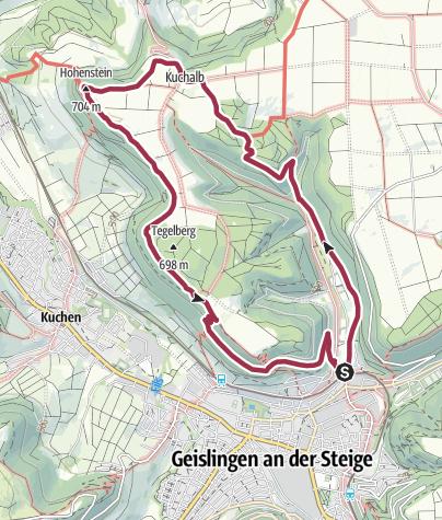 """Karte / Löwenpfad """"Weitblick-Tour"""" - Hoch hinaus und weit geblickt"""
