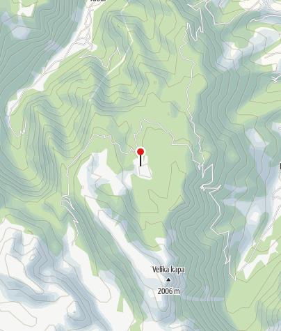 Map / Planinarski dom Senad Muhibić - Dundo