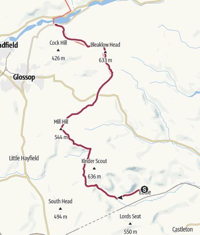 Map / Edale to Torside