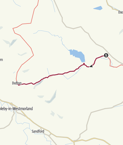 Map / Langdon Beck to Dufton