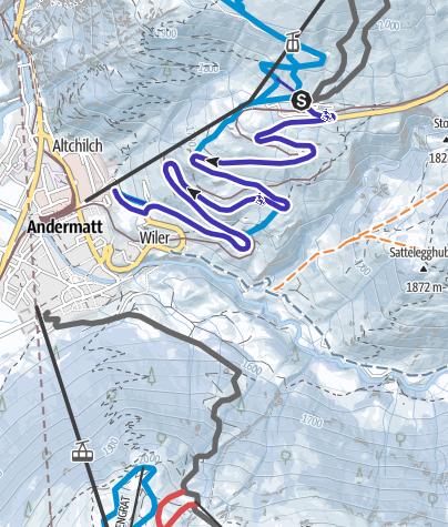 Map / Nätschen - Andermatt