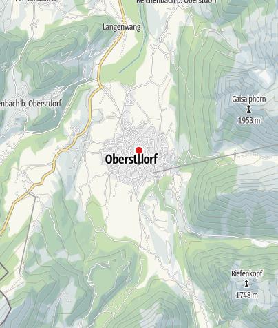Map / Chalet am Frohmarkt