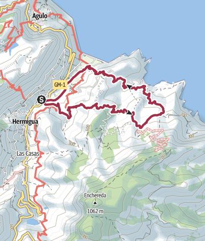 Map / Hermigua Loop Walk