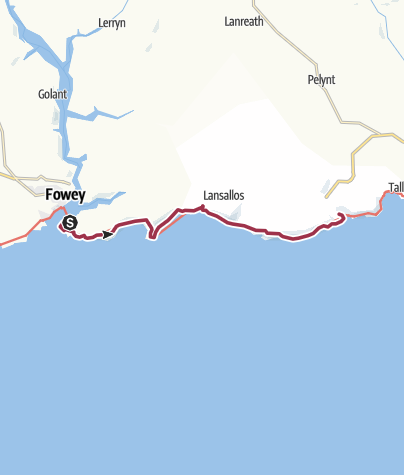 Map / Fowey to Polperro