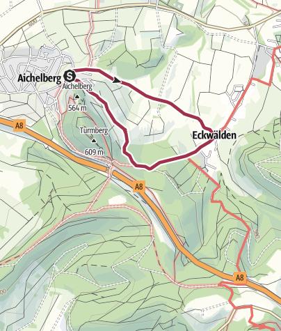 Karte / Turmberg-Rundweg
