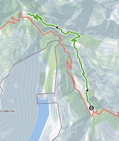 Karte / Bluäma Wäg Avers (Flower Walk)
